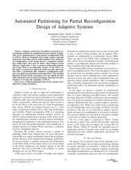 Automated Partitioning for Partial Reconfiguration Design of ...