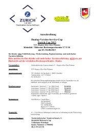 Ausschreibung Zurich Cup 2013 - Niedersächsischer ...