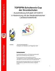 Ausschreibung 2013/2014 - Niedersächsischer Tennisverband e.V.