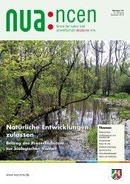 Der Beitrag des Prozessschutzes zur Biologischen Vielfalt - und ...
