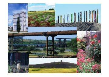 Parks und Gärten auf Industriebrachen im Ruhrgebiet