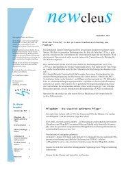 NEWcleuS 09/13 - nucleus Finanz und Versicherungsmakler AG