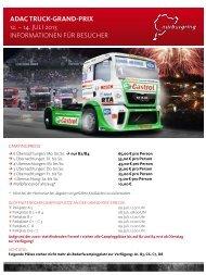 Campinginformationen 2013 - Truck-Grand-Prix