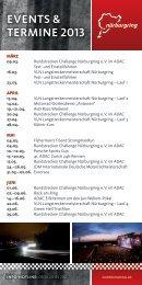 Download: Nürburgring Veranstaltungskalender 2013