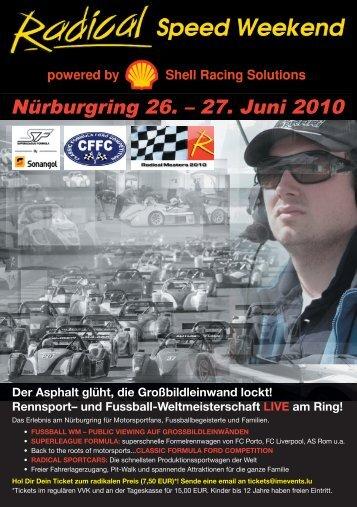 Nürburgring 26. – 27. Juni 2010