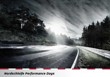NORDSCHLEIFE PERFORMANCE ... - Nürburgring