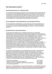 Download: Verhandlungsbericht Juli - Gemeinde Nuerensdorf