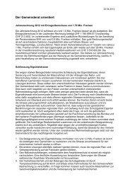 Verhandlungsbericht 4 - Gemeinde Nuerensdorf