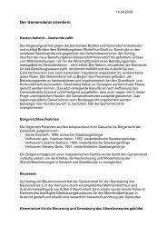 Download: Verhandlungsbericht April - Gemeinde Nuerensdorf