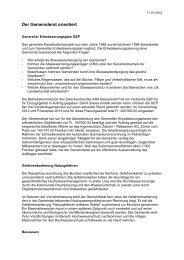 Verhandlungsbericht 1 - Gemeinde Nuerensdorf