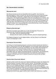 Verhandlungsbericht 11 - Gemeinde Nuerensdorf