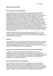 Download: Verhandlungsbericht Mai - Gemeinde Nuerensdorf