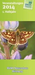 Jahresprogramm - Bund Naturschutz Nürnberg