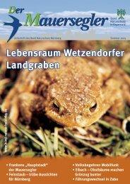 mauersegler 2-2005_rz.indd - Bund Naturschutz Nürnberg