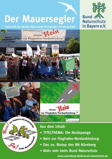 Der Mauersegler - Bund Naturschutz Nürnberg - Bund Naturschutz ...