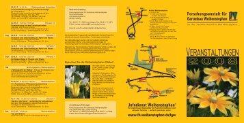Forschungsanstalt für Gartenbau Weihenstephan - Landkreis ...