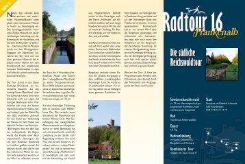 Die südliche Reichswaldtour - Landkreis Nürnberger Land