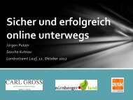 Sicher und erfolgreich online unterwegs - Landkreis Nürnberger Land