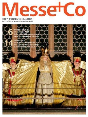 Heft 5.2007 (Größe: 2.054 KB) - NürnbergMesse