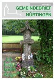 Oktober 2013 - Evangelische Gesamtkirchengemeinde Nürtingen