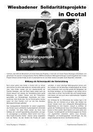 Projekt-Faltblatt 2012 - Nueva Nicaragua eV Wiesbaden