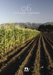 2006 Annual Report - Nufarm