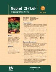 Nuprid 2F Product Information Bulletin (pdf 1.67MB) - Nufarm
