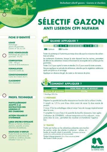 SÉLECTIF GAZON - Nufarm