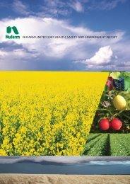 HSE report 2007 final.indd - Nufarm