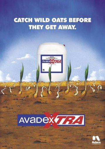 Avadex® Xtra - Fight Wild Oat Herbicide Resistance ... - Nufarm