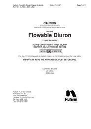 13269 Diuron Flowable Master.qxd - Nufarm