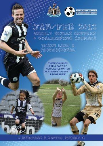 Weekly Skills Centres Jan 2012 - Newcastle United