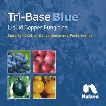 Tri-Base Blue Brochure - Nufarm