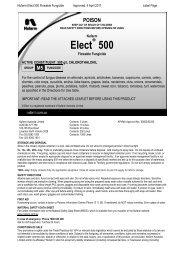 Elect® 500 - Nufarm