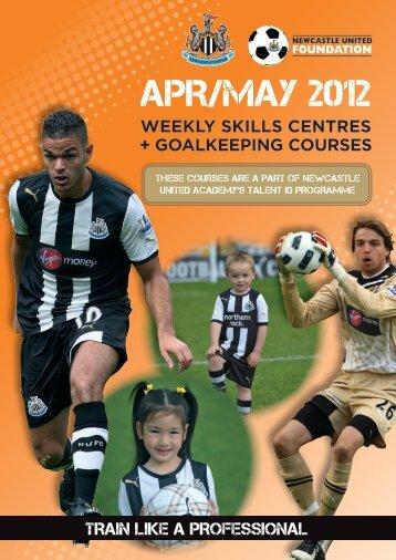 APR/MAY 2012 - Newcastle United