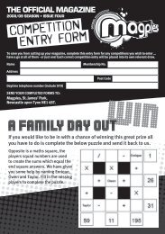 a family day out - Newcastle United