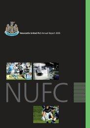 Newcastle United PLC Annual Report 2005