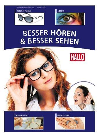 Besser sehen und hören 01/2013