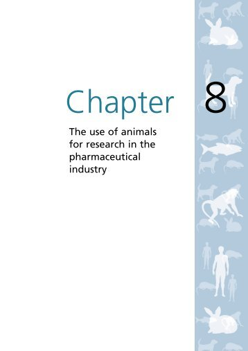 The use of animals for research in the pharmaceutical industry