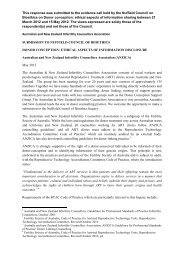 Australian and New Zealand Infertility Counsellors Association