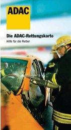 Die ADAC-Rettungskarte - NUGGET FORUM