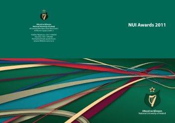 NUI Awards 2011 - National University of Ireland