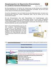 Ehrenamtskarte Garmisch-Partenkirchen Akzeptanzpartner 2014-05