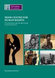 2010-2012 Biennial Report - National University of Ireland, Galway