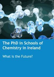 The PhD in Schools of Chemistry in Ireland - National University of ...