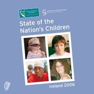 State of the Nation's Children - Department of Children and Youth ...