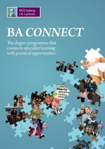 The BA Connect Prospectus - National University of Ireland, Galway