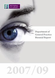 Department of General Practice Biennial Report - National ...