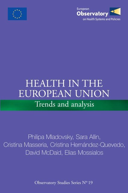 Health in the European Union, Trends and Analysis