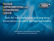 Tools for mass digitization and long-term perservation in cultural ...